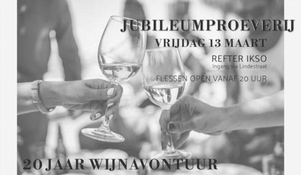 Uitnodiging Jubileumproeverij